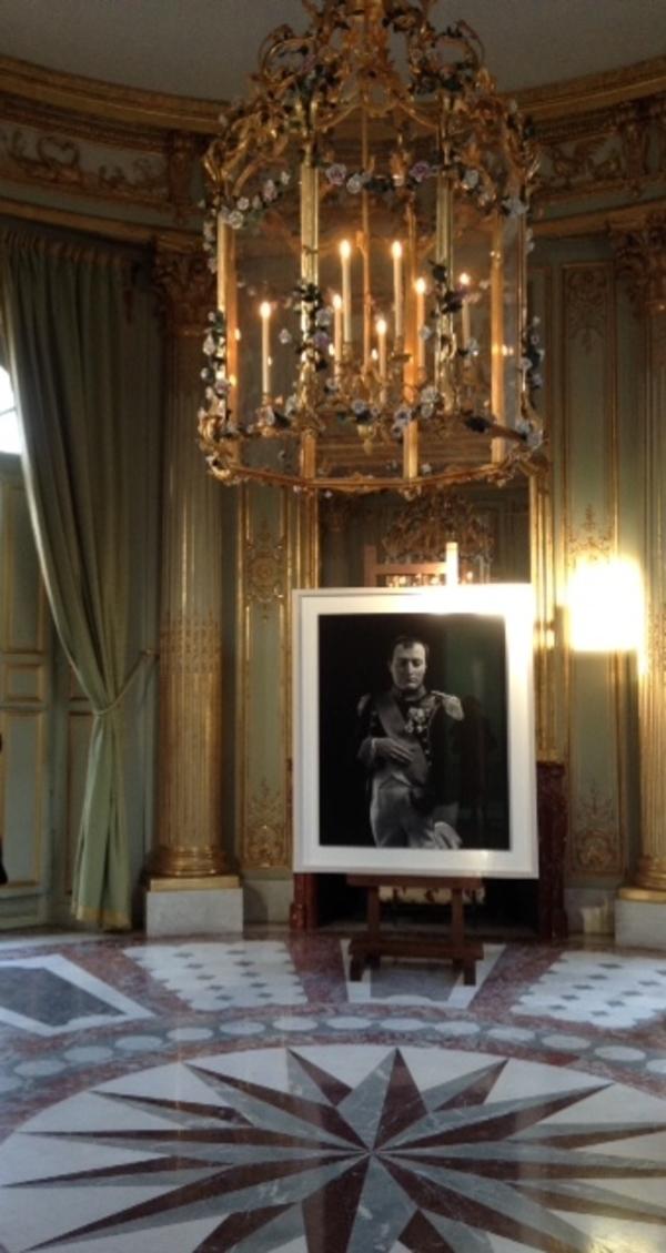 Hiroshi Sugimoto dans les jardins du petit Trianon  à Versailles