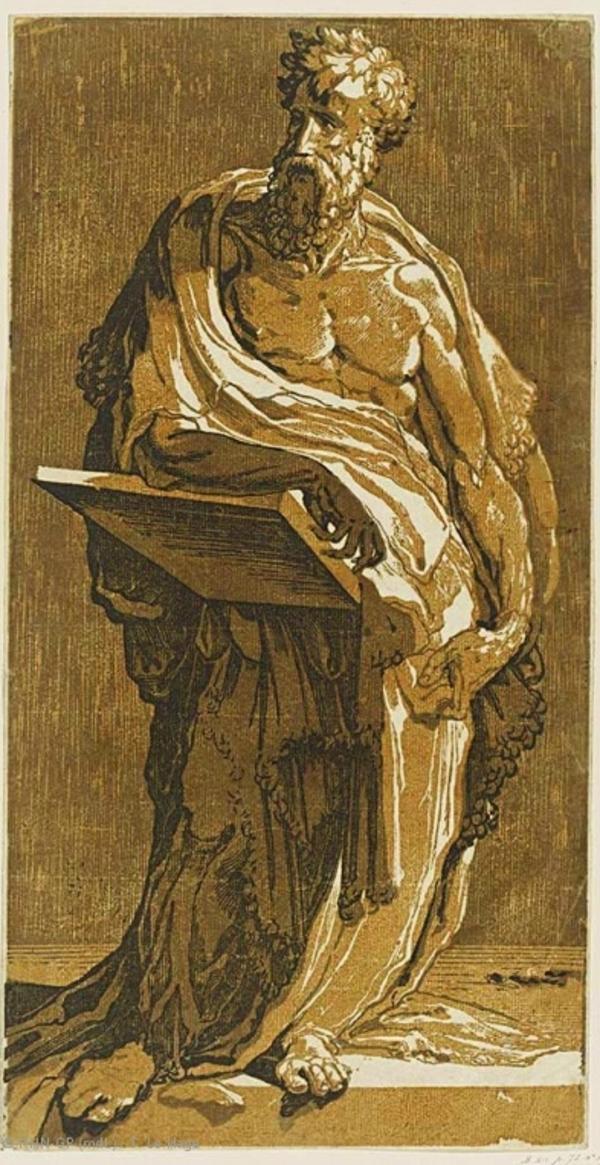 Gravure en clair-obscur. Cranach, Raphaël, Rubens.