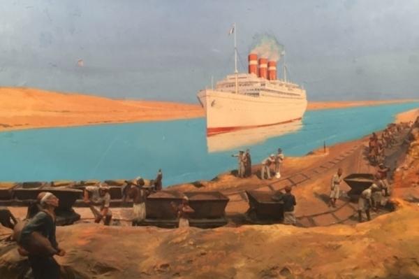 Marseille et l'épopée du Canal de Suez