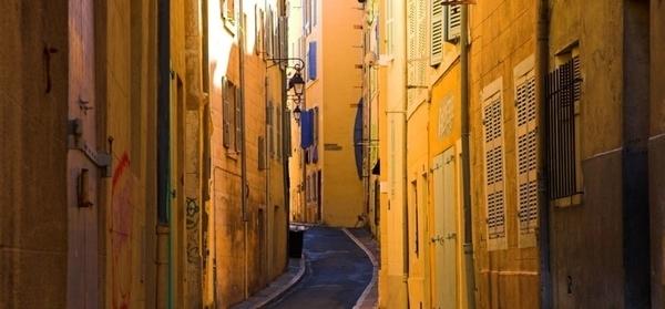 Le Vieux Marseille, quartier du Panier
