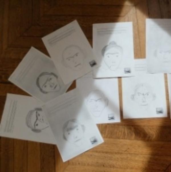 Jouons en famille aux portraits croisés