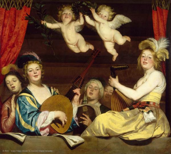 Mon imagier du Louvre : Musique !
