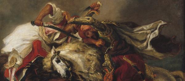 Un duel romantique, ''Le Giaour'' de Lord Byron par Delacroix