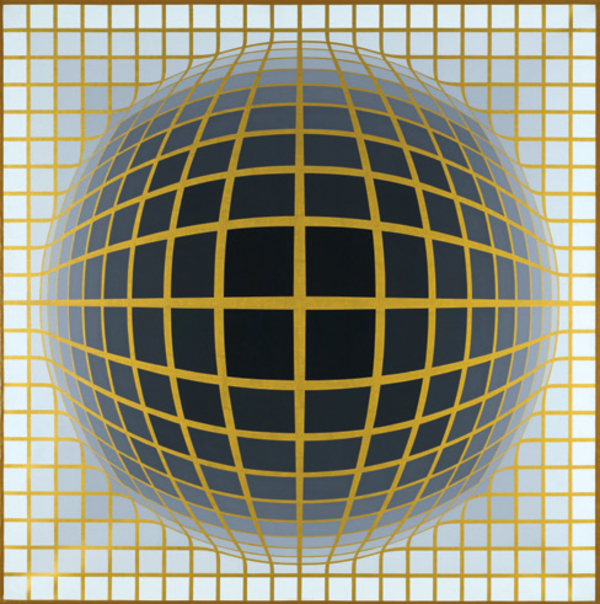 Vasarely - Sharing Forms