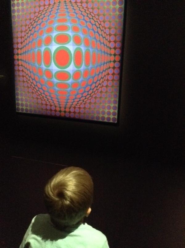 Victor Vasarely - Le partage des formes