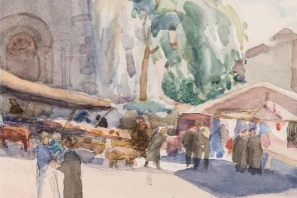 Exposition André Jacques, impressions de Savoie