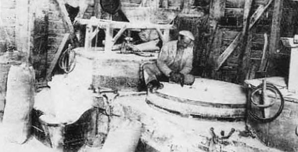 Moulin des Loges, la meunerie