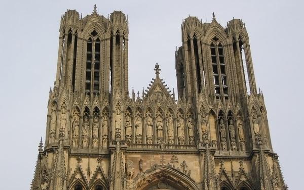Cathédrale Notre-Dame de Reims, ses tours