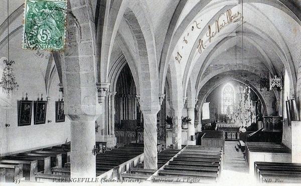L'église Saint-Valery et son cimetière marin