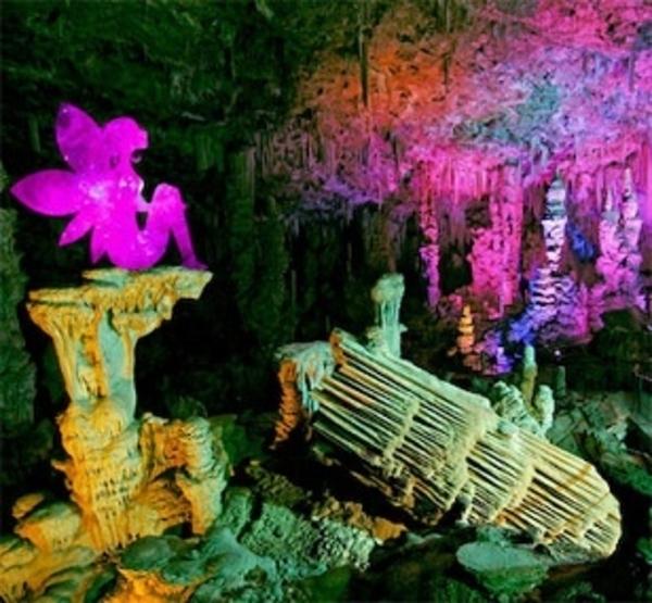 La grotte de la Salamandre contée