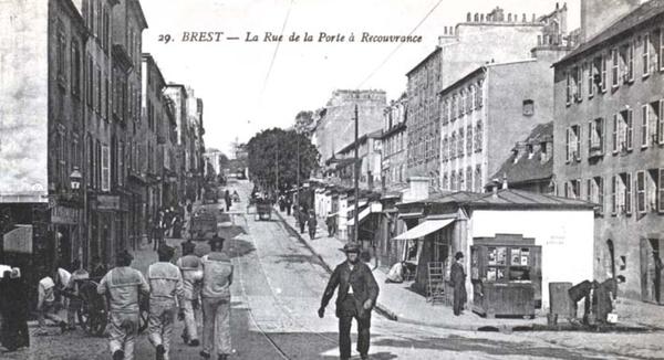 Le charme du Brest d'avant-guerre