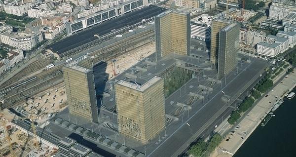 BNF, bibliothèque François-Mitterrand