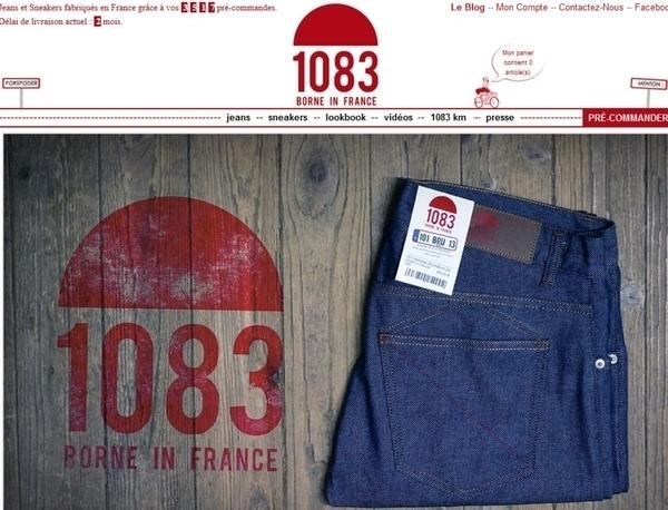 """Ateliers des jeans """"1083"""""""