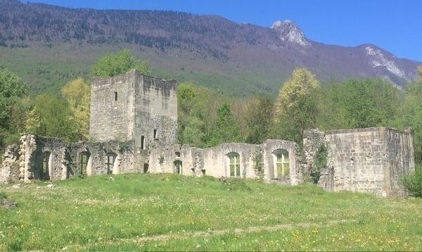 Le Bourget du Lac et son Château Thomas II