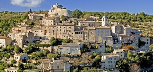 Village de Simiane-la-Rotonde