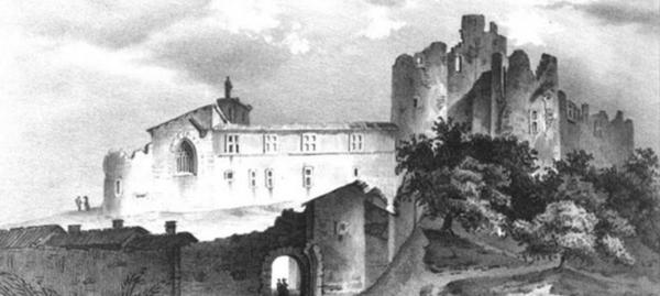Le chantier du Château de Tallard