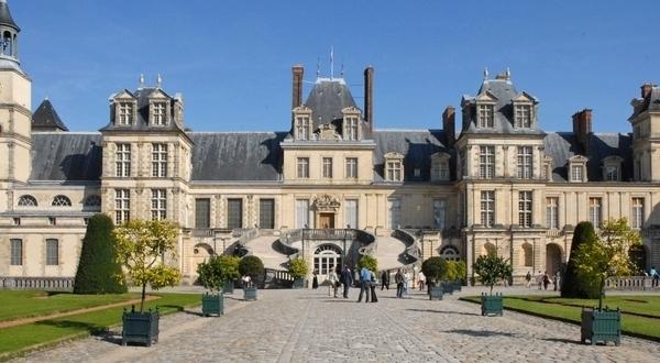 Château de Fontainebleau, découverte
