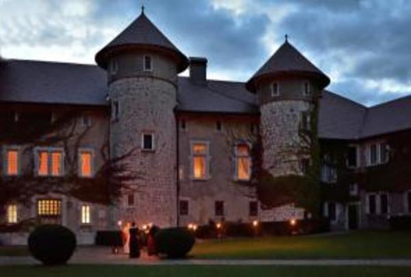 Château de Thorens en nocturne