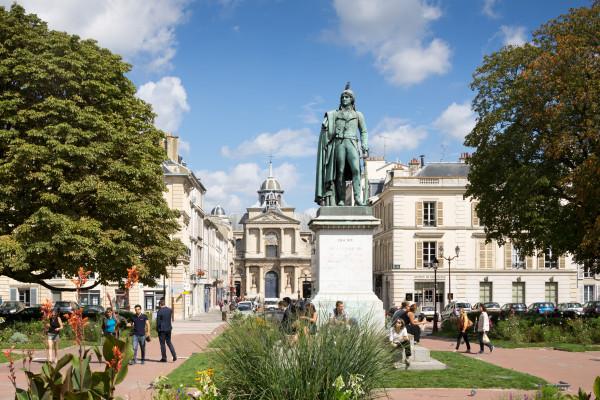 Versailles ville royale - Le quartier Notre-Dame