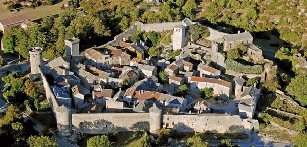 La Couvertoirade, Cité Templière et Hospitalière
