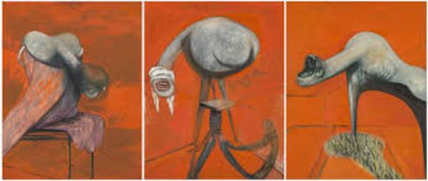 Francis Bacon, peintre de «viande» et Lucian Freud, peintre de «chair». Mais tous deux frères de sang.