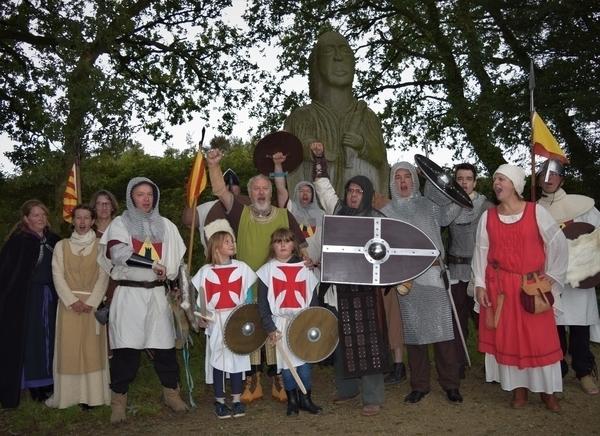 Visite d'un camp médiéval