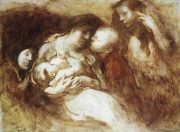 Eugène Carrière, peintre de l'intime
