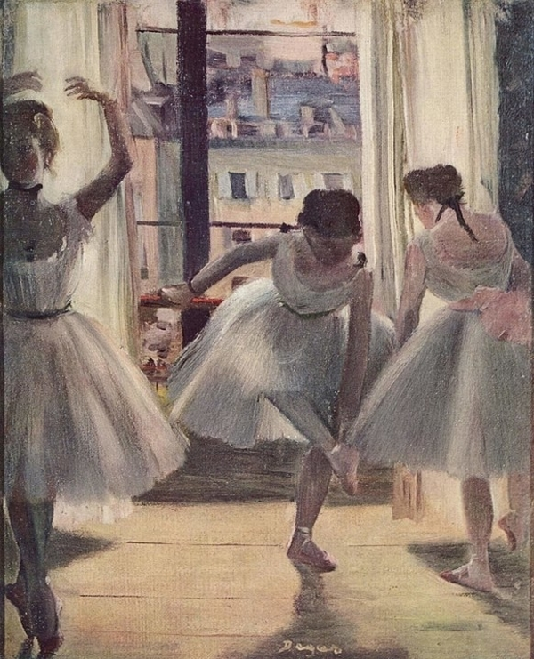 Degas, l'intimité de la danse