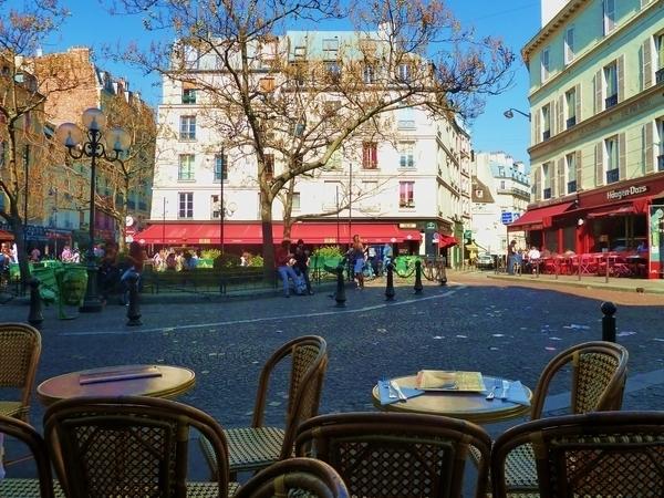 La rue Mouffetard, de St Médard à la place de la Contrescarpe