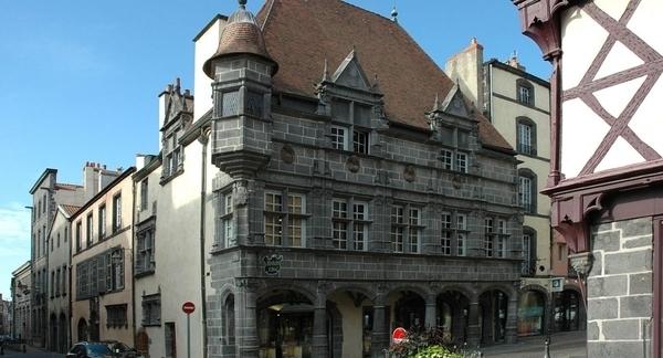 Riom, ancienne capitale de l'Auvergne