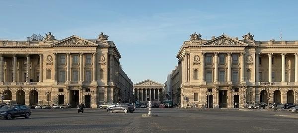 Du quartier de la Madeleine aux jardins des Champs Elysées