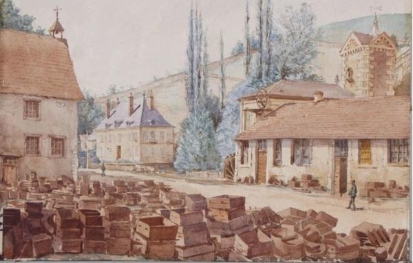 Les forges et fonderie de Baignes
