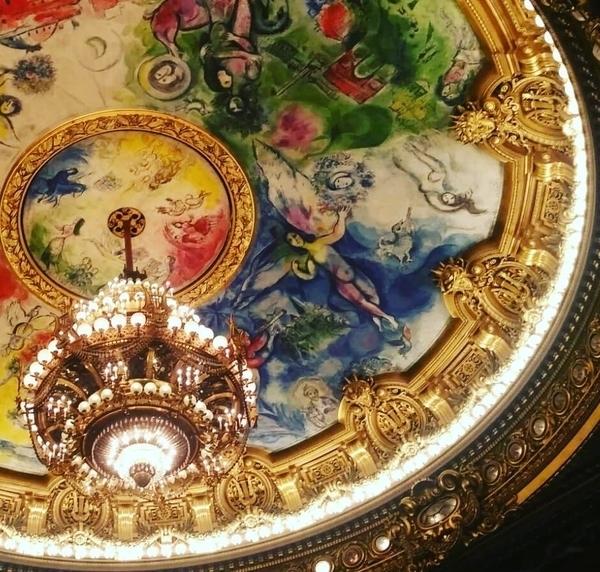 l'Opéra Garnier et les Galeries Lafayette