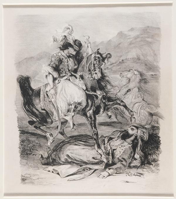 Autour de Giaour de Lord Byron (Conversation en LSF avec mon guide)