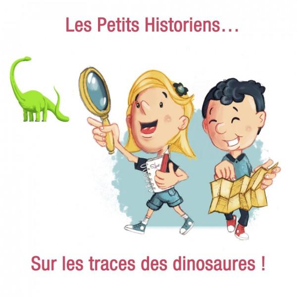 Visite virtuelle > Enquête chez les dinosaures par les petits historiens ! (5-7 ans)