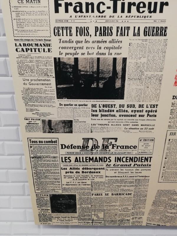 Paris, de l'Occupation à la Libération