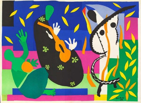Matisse comme un roman