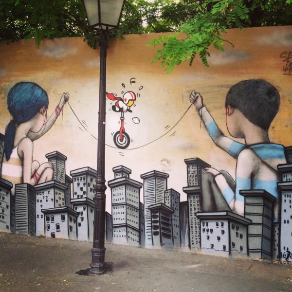 Le Street Art dans le village de la Butte-aux-Cailles