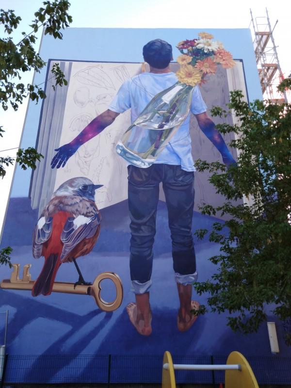 Le Street art grandeur murale à Versailles