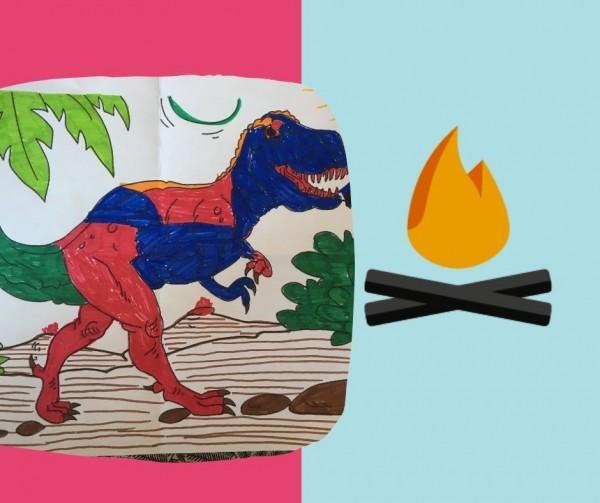Atelier en ligne > À la recherche du dinosaure perdu