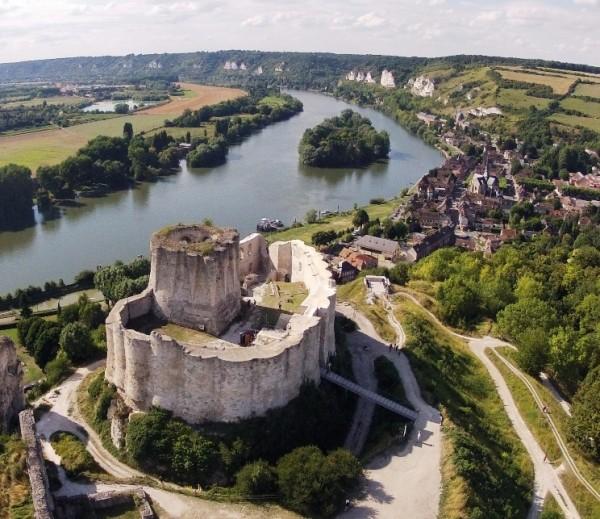 Château Gaillard et Richard Cœur de Lion