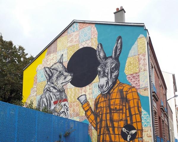 Visite en ligne > Panorama du street art