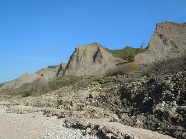 Le gisement paléontologique des falaises des Vaches Noires