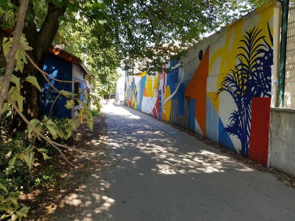 Visite en ligne > La street art avenue