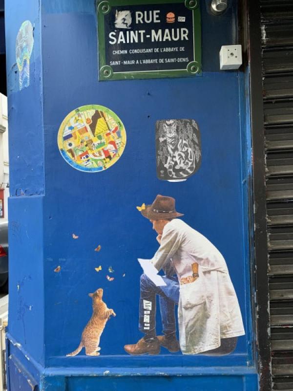 Le Street Art à Belleville