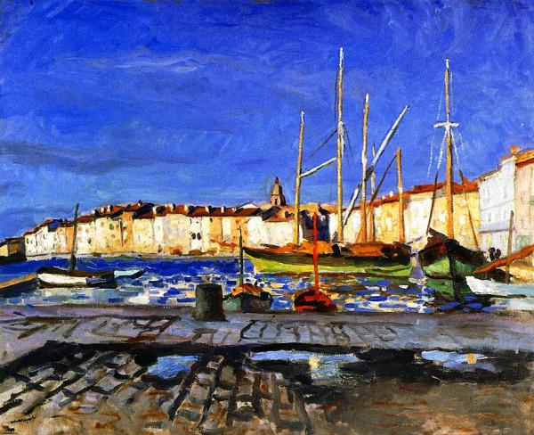 Les peintres à Saint-Tropez