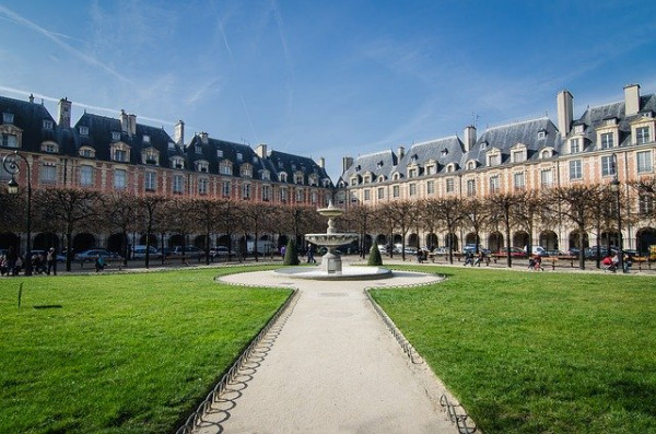 Live tour > The great moments in the history of the Marais