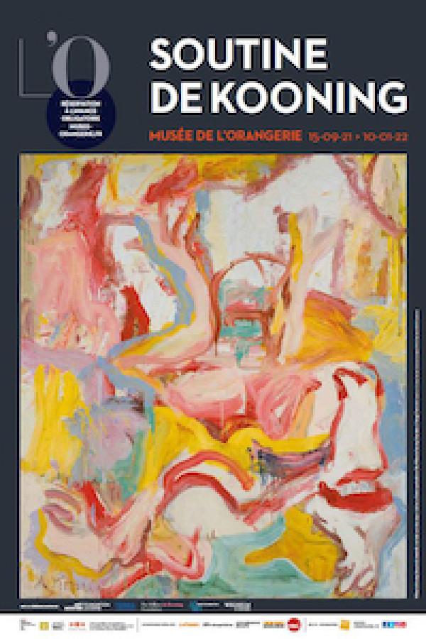 Soutine/De Kooning à l'Orangerie