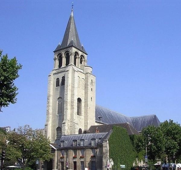 Hôtels, jardins, enceinte médièvale de St Germain des Prés