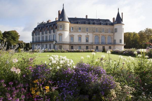Château de Rambouillet, laiterie de la Reine et chaumière aux coquillages